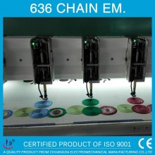 636 COMOUTERIZED CHENILLE/CHAINSTITCH TAJIMA EMBROIDERY MACHINE FOR SALE
