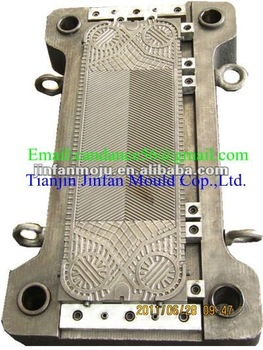 M6 mould for plate heat exchanger