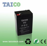 China Supplier Rechargeable 6v 4.5ah Battery