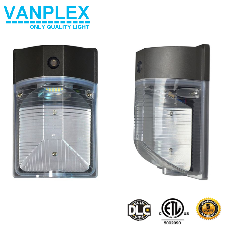 Shenzhen Vanplex 2017 mini wall pack lighting fixture, DLC 18w led wall pack light wholesale
