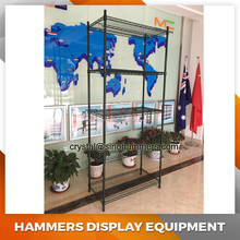 Heavy Duty 5 Tier wire shelving , Chrome Wire Shelf