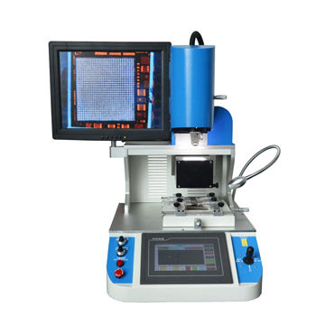 Optical alignment BGA chip replacement remove machine cell phone repair station with bga rework system