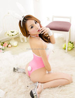 Promotion low price bunny costume wholesale sexy lingerie