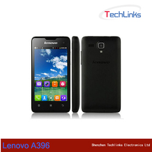 Lenovo A396 Quad Core 3G WCDMA Smartphone Android Front & Back Camera Dual Sim Cards Wifi Mobile Phone