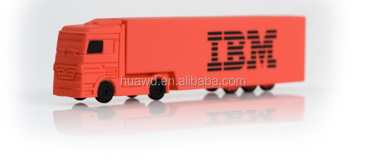 Custom Shaped Truck USB Flash Disk /4GB USB 2.0