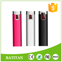 digital display powerbank 2600mah factory supplier Portable External Backup Battery Charger for mobil phone