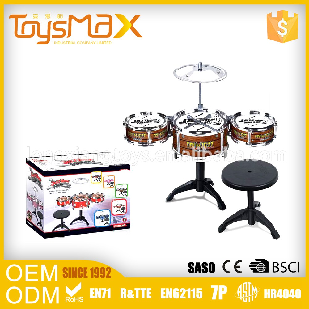 Make To Order Kids Educational Toy Electric Drum Toy