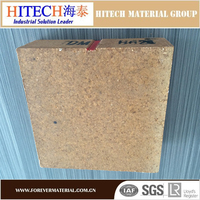 qualified manufacturer zibo hitech magnesia refractories fire brick with low coefficient of heat-conduction ratio