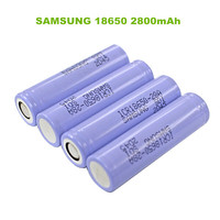 Hot sale genuine Samsung ICR18650 28A 3.7V 2800mAh li-ion battery samsung 18650 battery cells from South Korea for E cigarettes