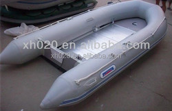 Strong rigid inflatable custom 0.9mm fiberglass small boat