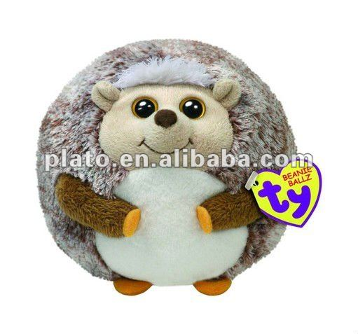 2012 Cute comfortable ball shape round hedgehog plush toy