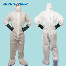 Breathable Cleanroom Overall Protective Suit Type 5&6 Disposable Coverall