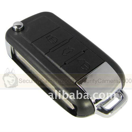 Car key chain camera BMW shape