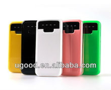 Portable power bank charger,2200mAh/2600mAh/2800mAh,4a battery charger 12v