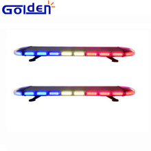Full size led flashing rotating police emergency light bars for vehicles