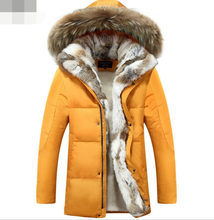 Yellow Color Coat / Winter Clothing Goose Down Jacket