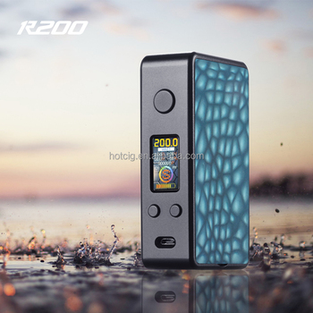 New arrival Hotcig box mod R200 Mod with competitive price