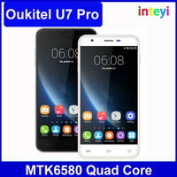 Original OUKITEL U7 Pro Android 5.1 Smartphone MT6580 Quad-Core 1280 x 720 1G RAM 8G ROM 5.5 Inch 13.0MP 3G WCDMA Cell Phone