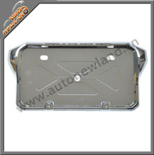 Decorative license plate frames for cars