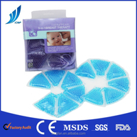 wonderful pvc durable breast hot cold pack MSDS