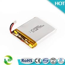 106065 lithium polymer li-ion battery 3.7v 4400mah