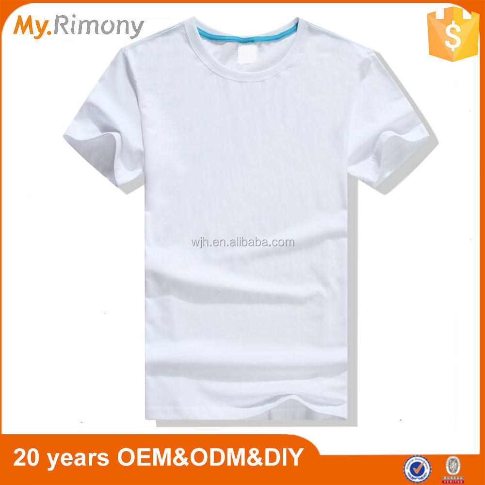 Wholesale cheap blank white t shirt design for men buy t for Design cheap t shirts