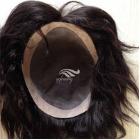 Natural Looking High Quality Human Hair Afro Hairpieces