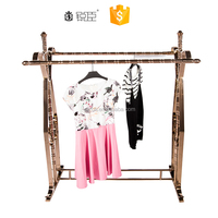 Rose gold rack ,clothes hanger stand , children clothes rack