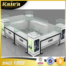 Low price shopping Mall Jewelry Display Showcase Kiosk Design