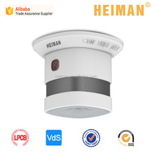 Heiman 2017 mini detector smoke electronic fire alarm 10 Years Sealed Battery Operated mini Photoelectric Smoke Detector with ce