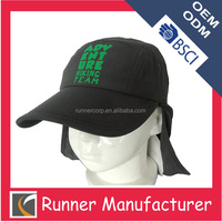 Wholesales with back flap and ear muff mantle cloak baseball cap
