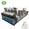 Economic automatic toilet paper product making machine