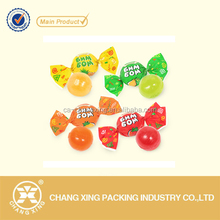 Aluminum foil candy wrapper film for packing hard candy/ taffee/ chocolate/ snack