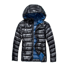 Men padding shiny winter Warm Down Coats