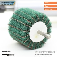 grinding wheel for polishing stainless steel angle grinder non-woven flap wheel
