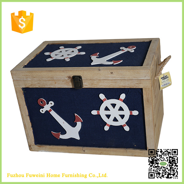 flag colorful design custom small unfinished wooden boxes wholesale with best price