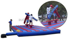 Pedestal Joust/adults free inflatable games /PVC material inflatable sport game