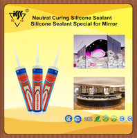 Top Quality Neutral Curing OEM Avaliable Silicone Sealant Special for Mirror