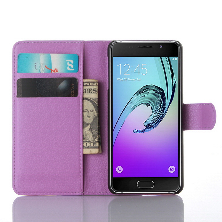 Designer promotional for samsung a3 leather smart case