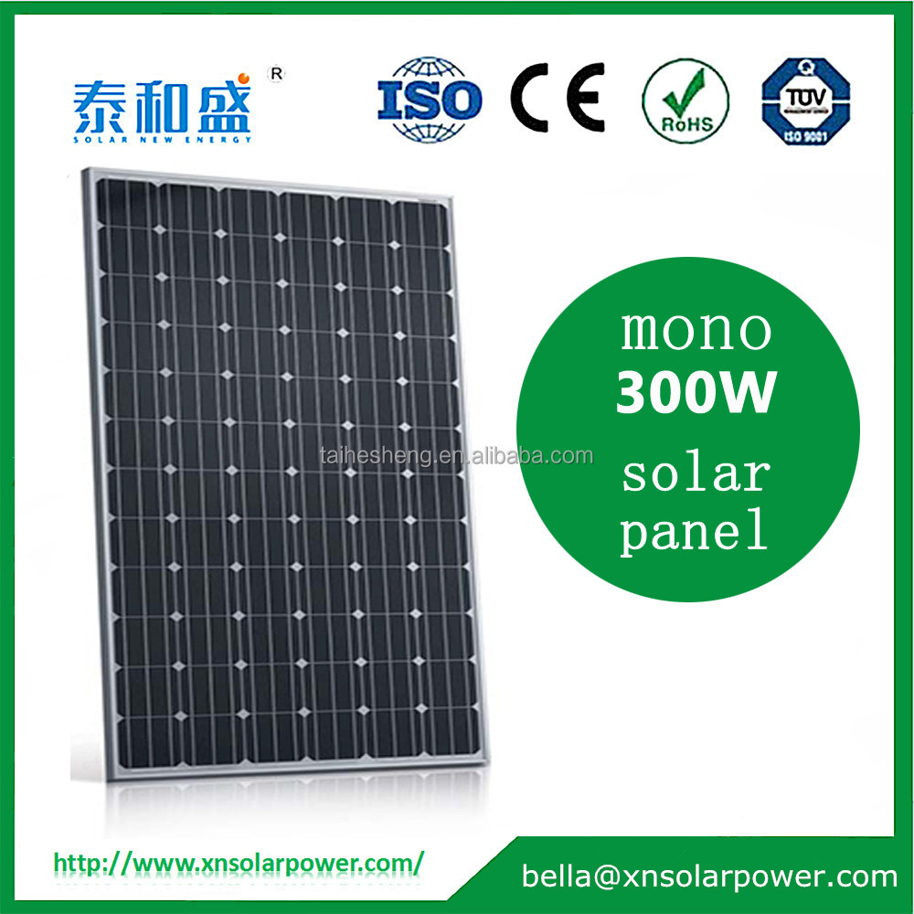 China manufacture mono 300w solar panel with super cheap