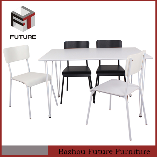 chinese wooden metal fast food furniture
