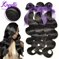 Wholesale 10A natural color human hair extension remy brazilian top quality body wave