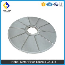 Stainless steel plate pressure vertical vibrator leaf filter