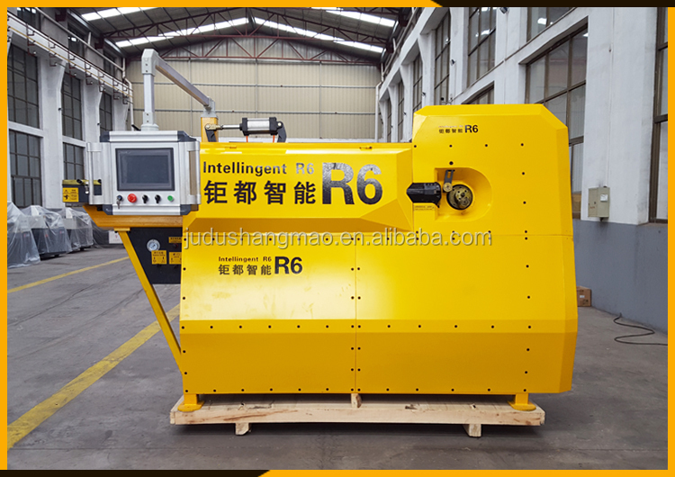 CNC automatic steel round bar stirrup bending machine sgw12d-1