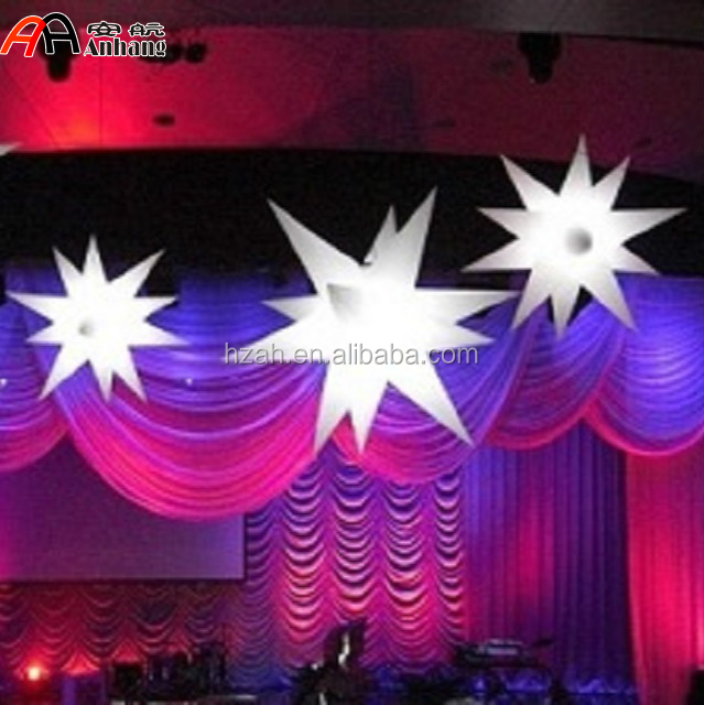 Wedding Decoration Dangling Stars/ Dancing Party Decorative Stars