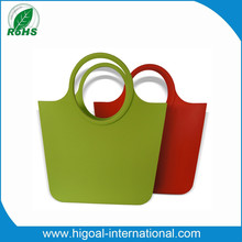 Woman o bag rubber bag silicone tote bag