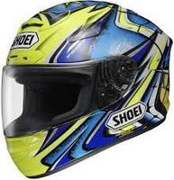 SHOEI X-TWELVE (X-12) DAIJIRO MEMORIAL TC-3 FULL FACE MOTORCYCLE HELMET