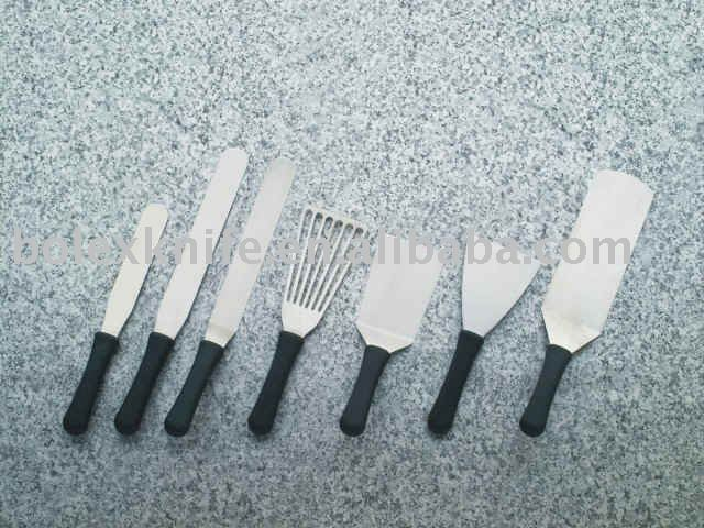 professional commercial baking and bakery spatulas,scrapers and commercial cooking turners and accessories,pastry knife,palette