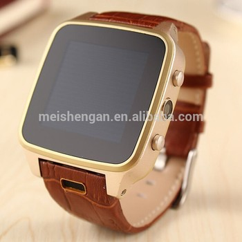 2015 New SZ9 SIM card living waterproof android 3g wifi smart watch