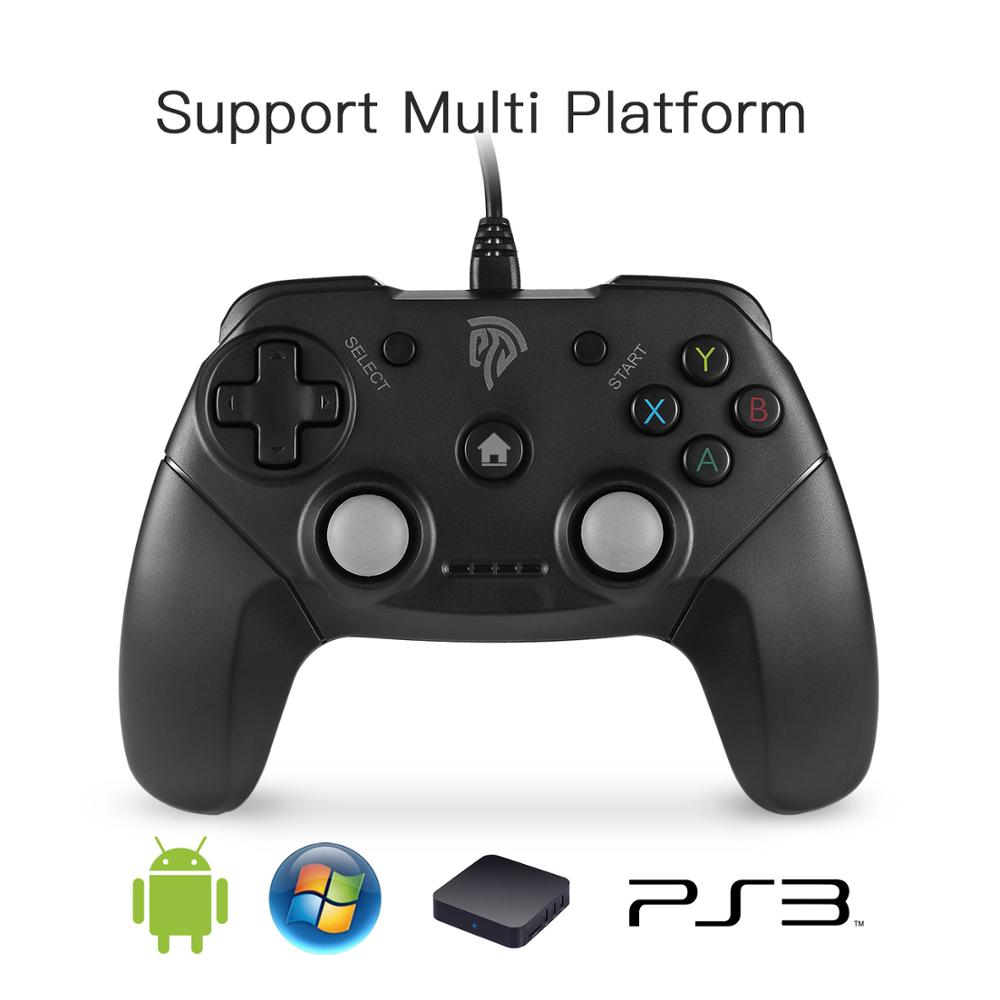EasySMX Dual-Vibration Wired USB Gamepad Joystick for PC/PS3/TV Box/Android Game Controller